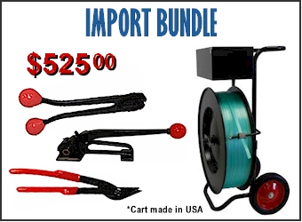 Strapping tools equipment new york steel strapping for Import direct inc